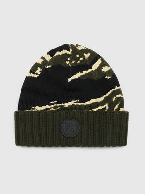 K-MASK, Verde/Nero - Cappelli invernali