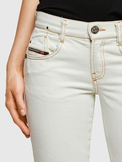 Diesel - D-Ebbey 009ZA, Bianco - Jeans - Image 4