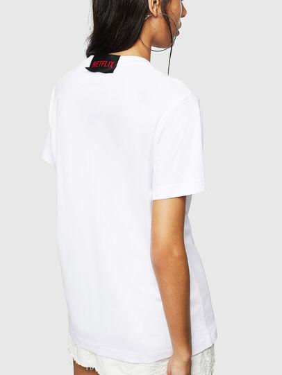 Diesel - LCP-T-DIEGO-BOGOTA, Bianco - T-Shirts - Image 4