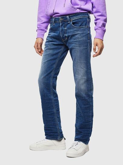 Diesel - Larkee 0097X, Blu medio - Jeans - Image 1
