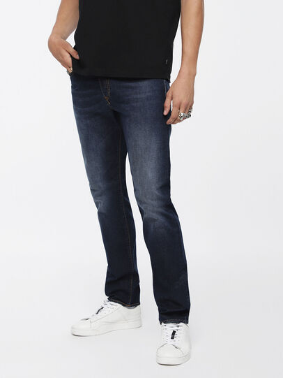Diesel - Buster 084XH, Blu Scuro - Jeans - Image 1