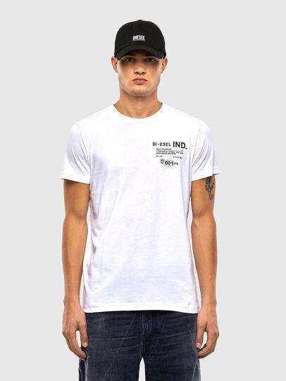 Diesel - T-DIEGOS-N21, Bianco - T-Shirts - Image 1