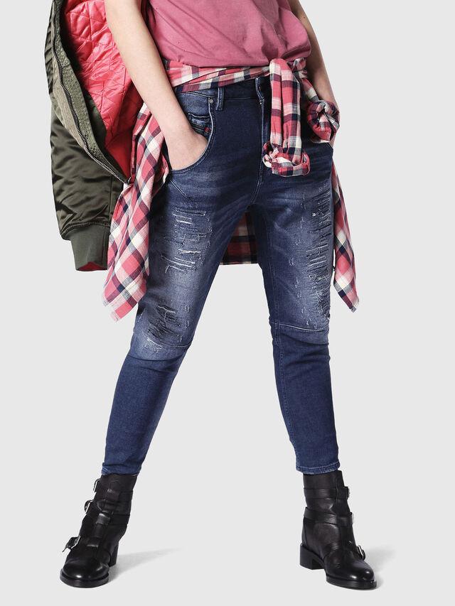 FAYZA JOGGJEANS 084PE, Blu Jeans