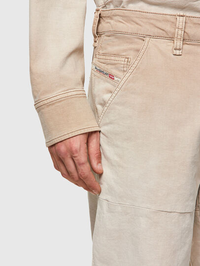 Diesel - D-Azerr JoggJeans® 069WG, Bianco - Jeans - Image 5