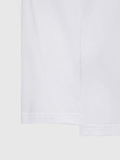 Diesel - T-JUST-SLITS-X83, Bianco - T-Shirts - Image 4