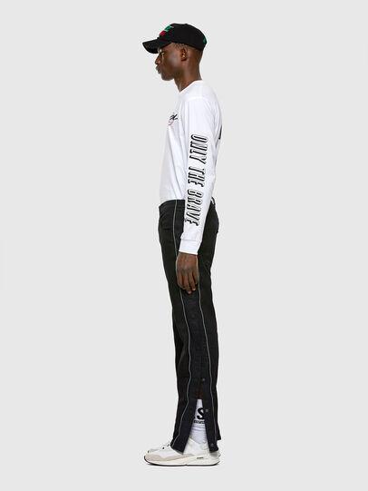Diesel - KROOLEY JoggJeans® 0KAYO, Nero/Grigio scuro - Jeans - Image 6