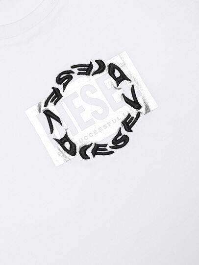 Diesel - TSILYRSUC, Bianco - T-shirts e Tops - Image 3