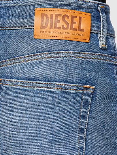 Diesel - D-Earlie 009HG, Blu Chiaro - Jeans - Image 4