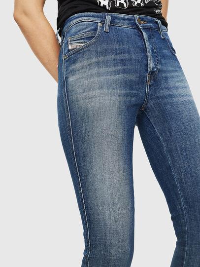 Diesel - Babhila 0098Z, Blu medio - Jeans - Image 3