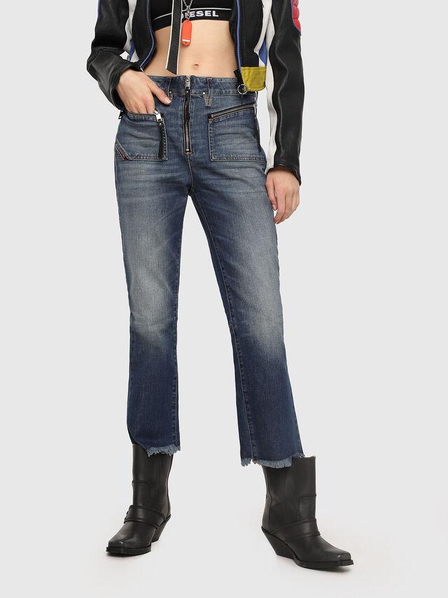 Diesel - D-Earlie 089AR, Blu Scuro - Jeans - Image 1