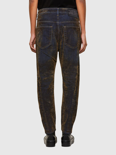 Diesel - Fayza 069RQ, Blu/Giallo - Jeans - Image 2