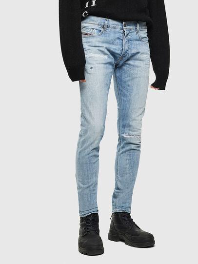 Diesel - Tepphar 0095V, Blu Chiaro - Jeans - Image 1