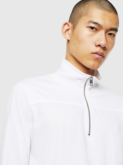 Diesel - T-DIEGO-LS-DOLCE, Bianco - T-Shirts - Image 3