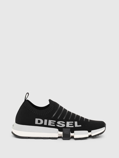 Diesel - H-PADOLA LOW SOCK, Nero - Sneakers - Image 1