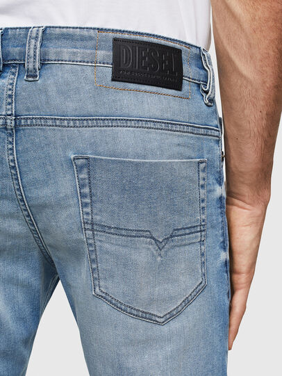 Diesel - Safado 069MN, Blu Chiaro - Jeans - Image 4