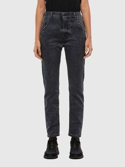 Diesel - KRAILEY JoggJeans® 069QB, Nero/Grigio scuro - Jeans - Image 1