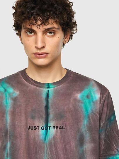 Diesel - T-JUST-B52, Rosa/Verde - T-Shirts - Image 5