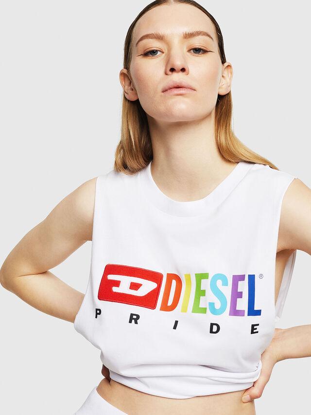 Diesel - UFTK-AVERY, Bianco - Tops - Image 3