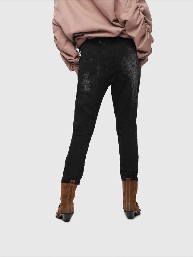 Diesel - Krailey JoggJeans 069DT, Nero/Grigio scuro - Jeans - Image 2