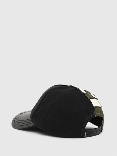 Diesel - CI-HALF, Verde Militare - Cappelli, Berretti e Guanti - Image 2