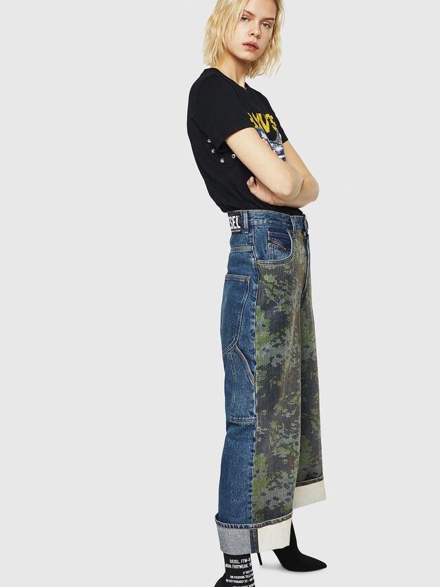 Diesel - D-Luite 0078E, Blu medio - Jeans - Image 5