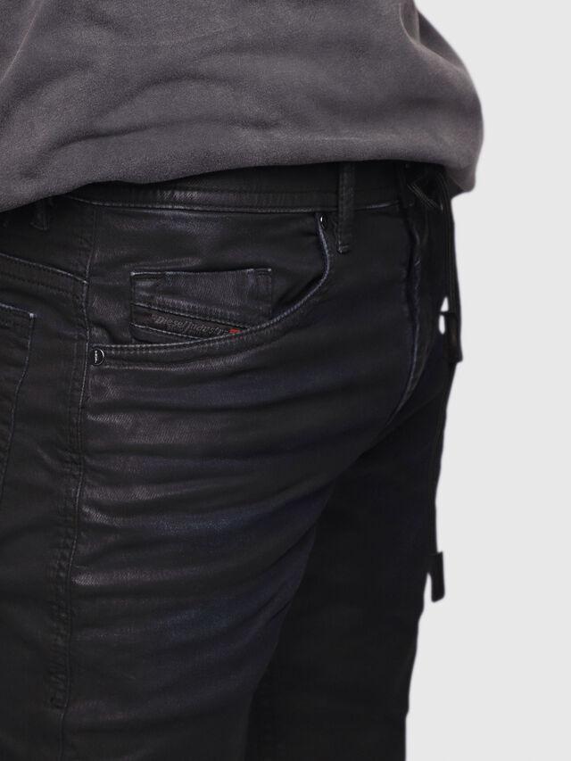 Diesel Thommer JoggJeans 0688U, Nero/Grigio scuro - Jeans - Image 2