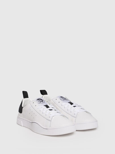 Diesel - S-CLEVER LOW W, Bianco/Nero - Sneakers - Image 2