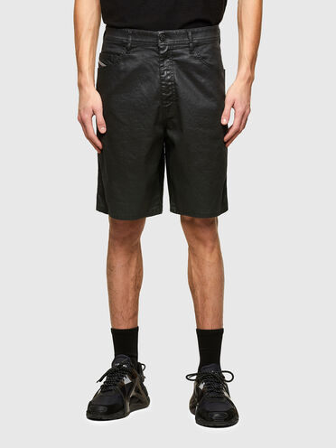 Shorts in JoggJeans effetto coated