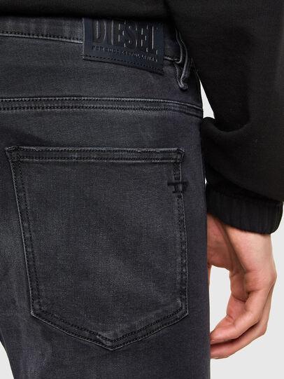 Diesel - D-Istort 069SB, Nero/Grigio scuro - Jeans - Image 4