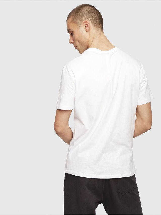 Diesel - UMLT-JAKE, Bianco - T-Shirts - Image 2