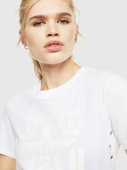 Diesel - T-SILY-WMA, Bianco - T-Shirts - Image 3