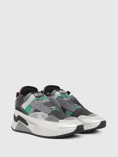 Diesel - S-BRENTHA DEC, Grigio - Sneakers - Image 2