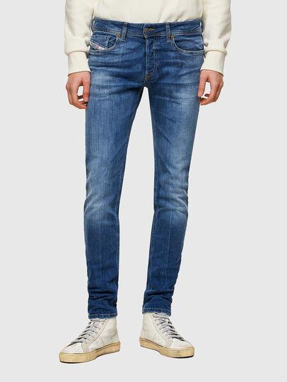 Diesel - Sleenker 009PK, Blu medio - Jeans - Image 1