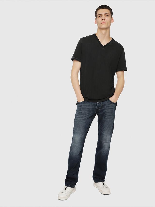 Diesel - Larkee 087AS, Blu Scuro - Jeans - Image 4