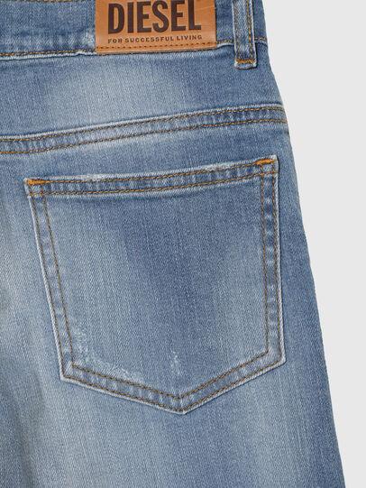 Diesel - WIDEE-J-SP1, Blu Chiaro - Jeans - Image 4