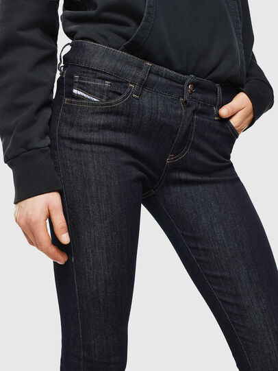 Diesel - Slandy 0813C, Blu Scuro - Jeans - Image 3