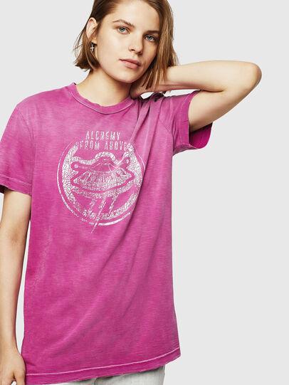 Diesel - T-FLAVIA-IA, Rosa - T-Shirts - Image 1