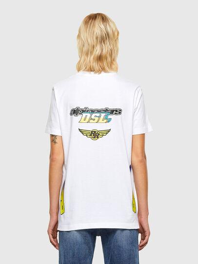 Diesel - ASTARS-T-DIEGOS-B-FL, Bianco - T-Shirts - Image 2