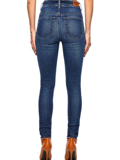 Diesel - Slandy High 009ZX, Blu Scuro - Jeans - Image 2