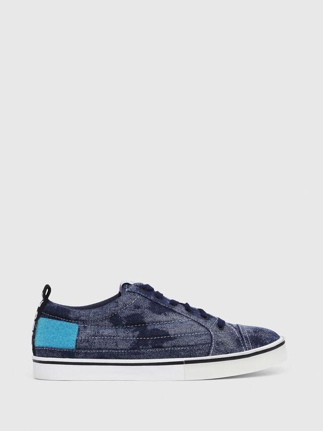 Diesel - D-VELOWS LOW PATCH, Blu Jeans - Sneakers - Image 1