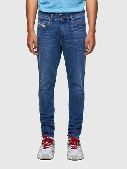 Diesel - D-Strukt 09A80, Blu medio - Jeans - Image 1