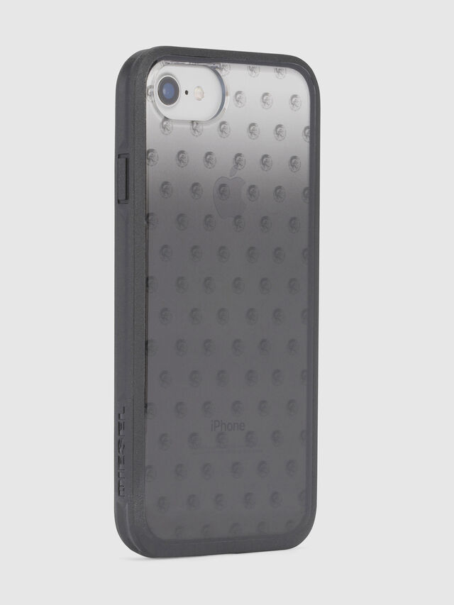 MOHICAN HEAD DOTS BLACK IPHONE 8/7/6s/6 CASE, Nero