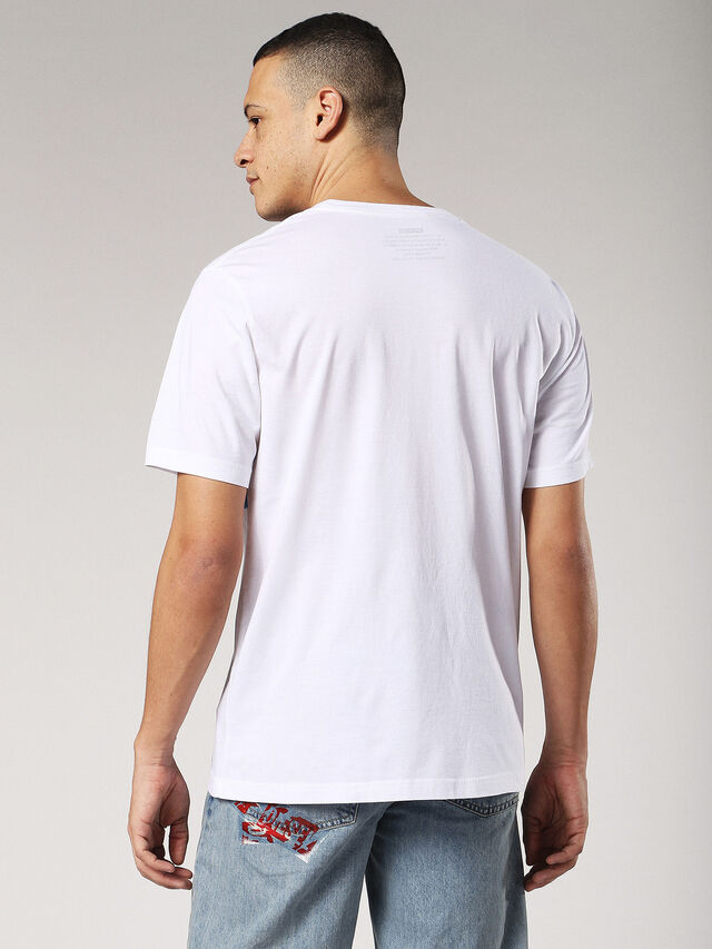 Diesel - T-JUST-SW, Bianco - T-Shirts - Image 2