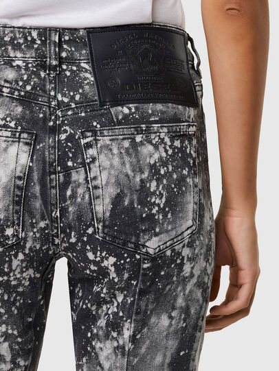 Diesel - D-Joy 009SW, Grigio Chiaro - Jeans - Image 4