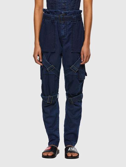 Diesel - D-Fedry JoggJeans® 0CBBZ, Blu Scuro - Jeans - Image 1