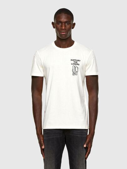 Diesel - T-DORYMO-A1, Bianco - T-Shirts - Image 1