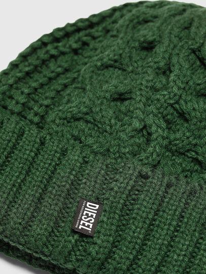 Diesel - K-KONEX, Verde Scuro - Cappelli invernali - Image 3