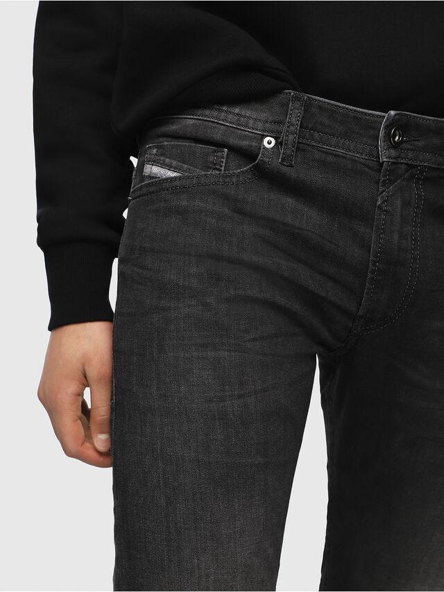 Diesel - Thommer 0687J, Nero/Grigio scuro - Jeans - Image 3