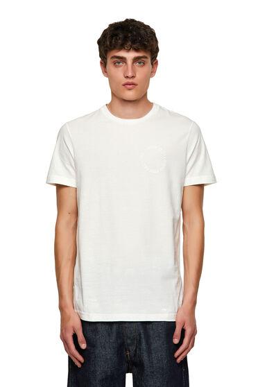 T-shirt Green Label con logo Copyright