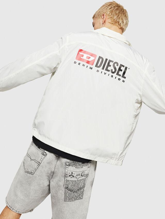 Diesel - J-ROMAN-P, Bianco - Giacche - Image 4